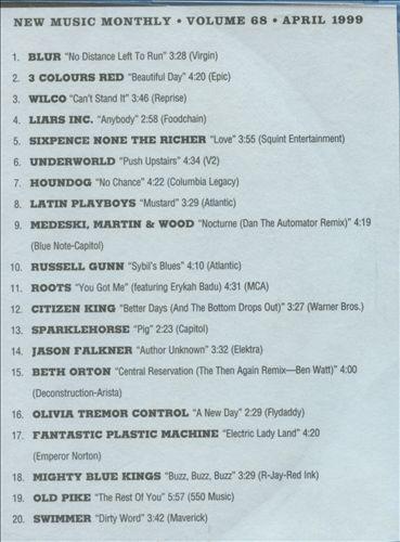 CMJ New Music, Vol. 68
