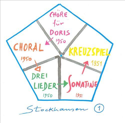 Stockhausen: Chöre für Doris; Choral; Drei Lieder; Sonatine; Kreuzspiel