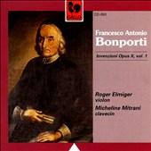 Bonporti: Inventions op. 10, vol. 1