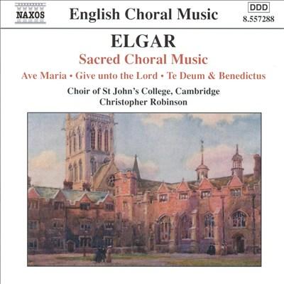 Elgar: Sacred Choral Music