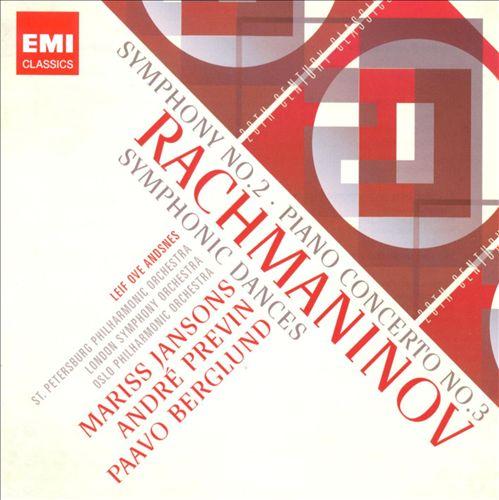 Rachmaninov: Symphony No. 2; Piano Concerto No. 3; Symphonic Dances