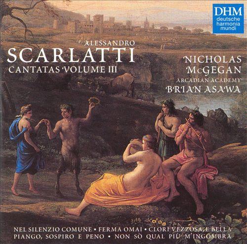 Alessandro Scarlatti: Cantatas, Vol. 3