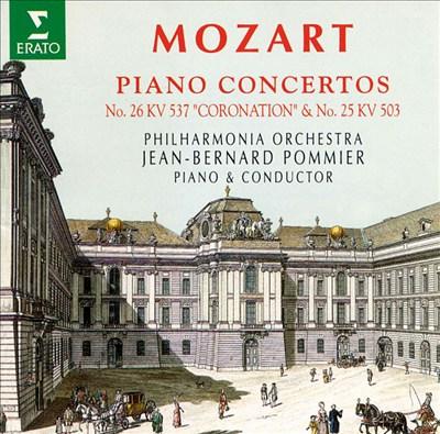 "Mozart: Piano Concertos Nos. 26 ""Coronation"" & 25"