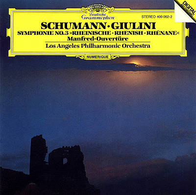 "Schumann: Symphonie No. 3 ""Rhenish""; Manfred-Ouvertüre"