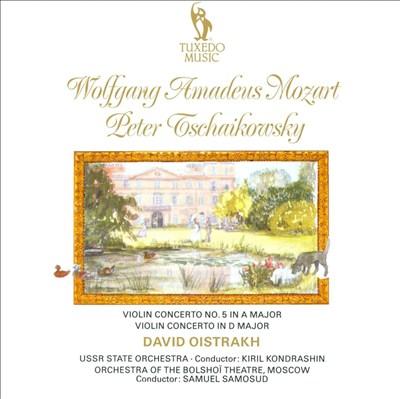 Mozart, Tschaikovsky: Violin Concertos