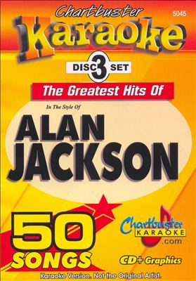Chartbuster Karaoke: Alan Jackson