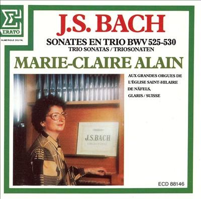 J.S. Bach: Sonates en Trio BWV 525-530