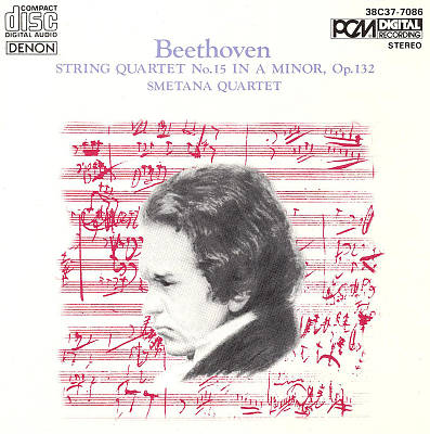 Beethoven: String Quartet No. 15