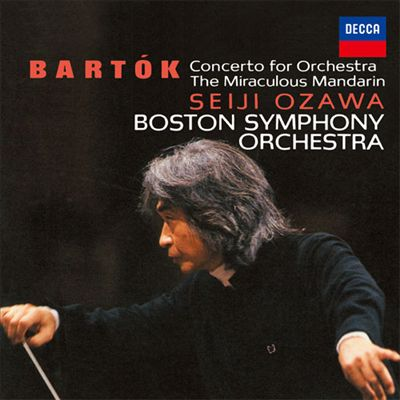 Bartók: Concerto for Orchestra; The Miraculous Mandarin