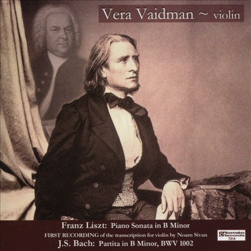 Vera Vaidman plays Liszt & Bach