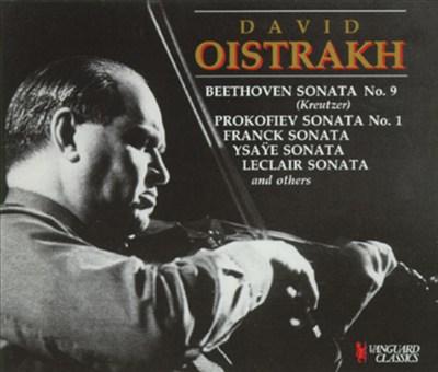 """Beethoven: Sonata No. 9 """"Kreutzer""""; Prokofiev: Sonata No. 1; etc."""