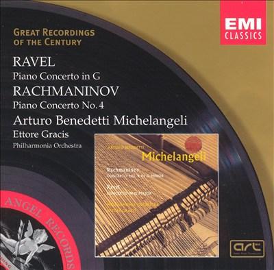 Ravel: Piano Concerto; Rachmaninov: Piano Concerto No. 4