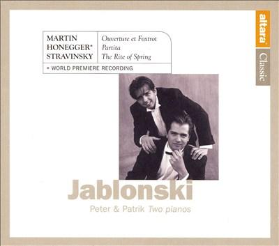 Peter & Patrik Jablonski - Two Pianos