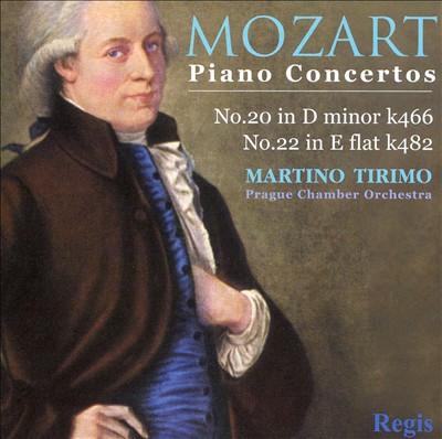Mozart: Piano Concertos, K 466 & 482