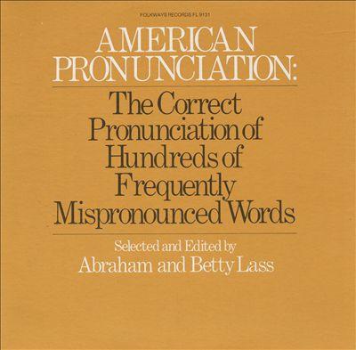 American Pronunciation