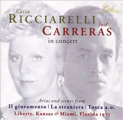 Arias and Scenes from Il Guiramento, La Straniera, Tosca, a.o.