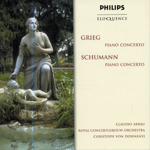 Grieg, Schumann: Piano Concertos [Australia]