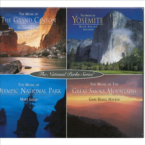 National Parks Series Box: Grand Canyon/Yosemite/Olympic National Park/Great Smoky Moun