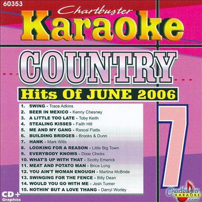 Karaoke: July 2006