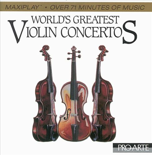 World's Greatest Violin Concertos