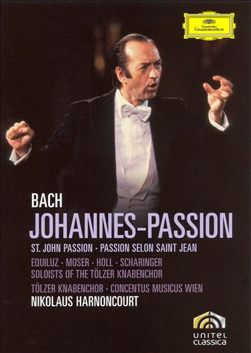 Bach: Johannes-Passion [DVD Video]
