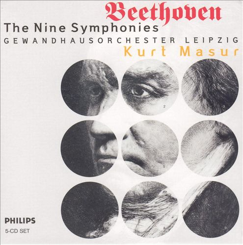 Beethoven: The Nine Symphonies [Box Set]