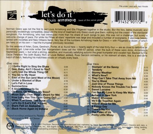Let's Do It: The Best of the Verve Years
