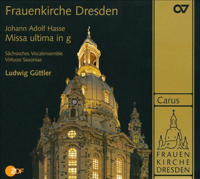 Johann Adolf Hasse: Missa ultima in g