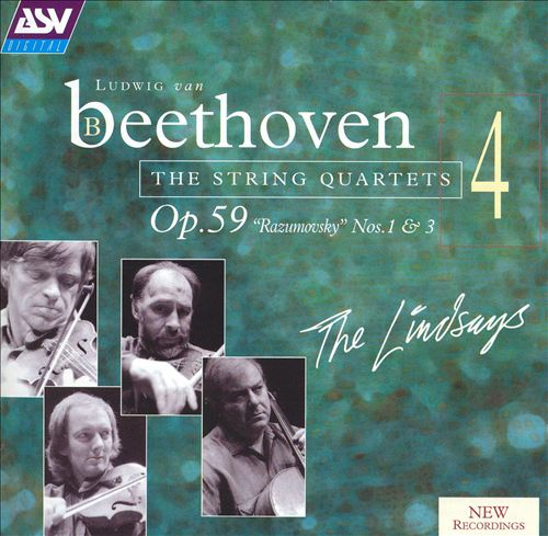 Beethoven: String Quartets, Vol. 4