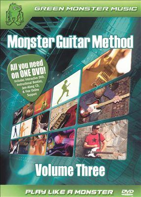 Monster Guitar Method, Vol. 3 [DVD/CD]
