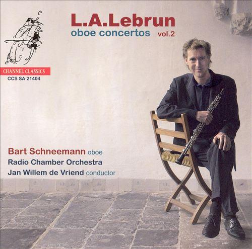 L.A. Lebrun: Oboe Concertos, Vol. 2