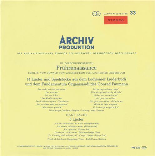 Glogauer & Lochhamer Songbooks