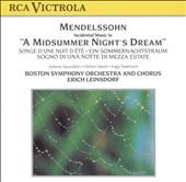 Mendelssohn: A Midsummer Night's Dream (Incidental Music)