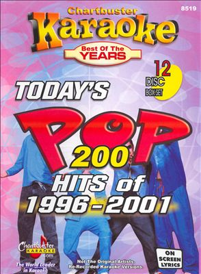 Chartbuster Karaoke: Today's Pop Hits of 1996-01