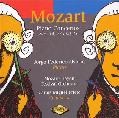 Mozart: Piano Concertos Nos. 14, 23 and 25