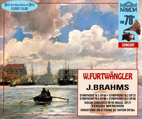 Brahms: Symphonies Nos. 1 - 4; Violin Concerto in Re Magg Op. 77; Variations on a Theme by Haydn Op. 56a