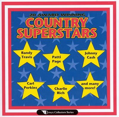 20 Award Winning Country Superstars