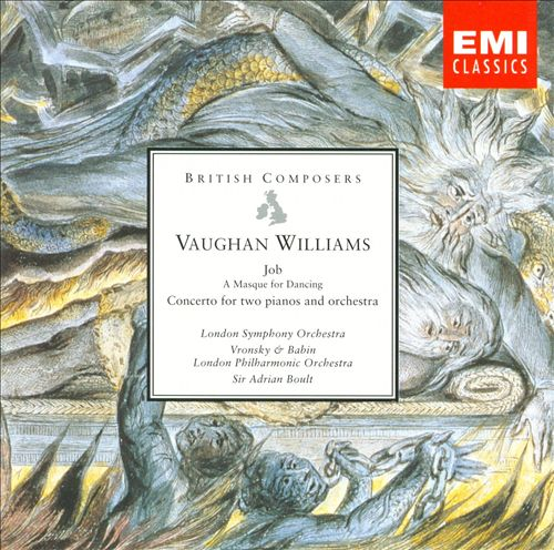 Vaughan Williams: Job; Concerto for pianos in C