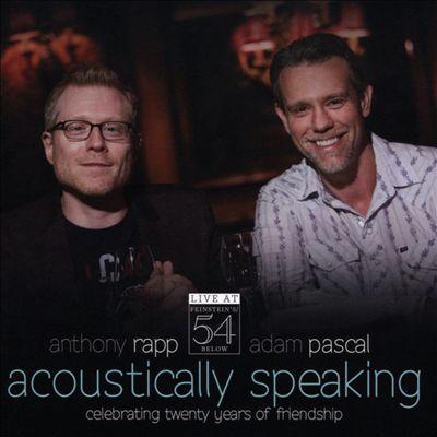 Acoustically Speaking: Live at Feinstein's/54 Below