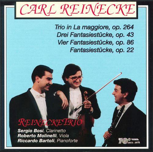 Reinecke: Trios for Clarinet, Viola, and Piano