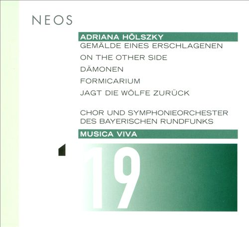 Musica Viva, Vol. 19: Adriana Holszky