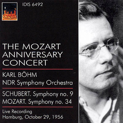 Schubert: Symphony No.9; Mozart: Symphony No.34