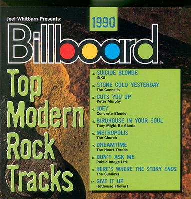 Billboard Top Modern Rock Tracks 1990