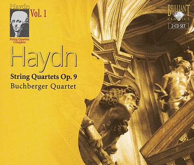 Haydn: String Quartets Op. 9