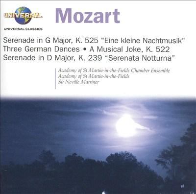 Mozart: Eine kleine Nachtmusik; Three German Dances