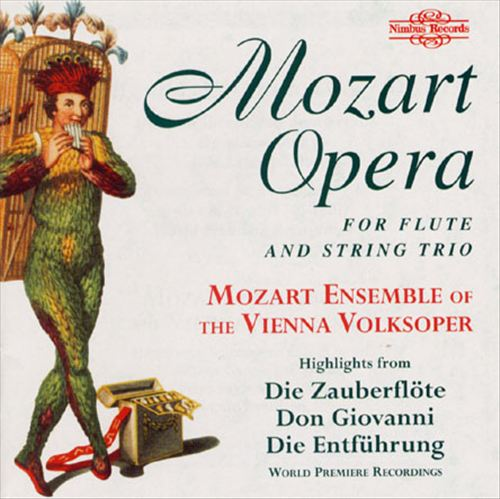 Mozart Opera for Flute and String Trio [1]