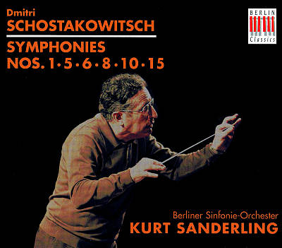 Schostakowitsch: Symphonies Nos. 1,5,6,8, 10, 15 [Box Set]