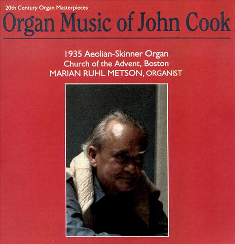 Organ Music of John Cook