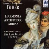 Heinrich Ignaz Franz Biber: Harmonia Artificioso - Ariosa