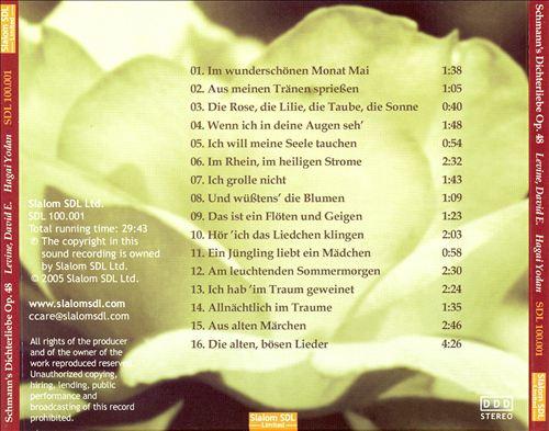 Schumann's Dichterliebe